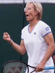 Navratilova visits Downing St