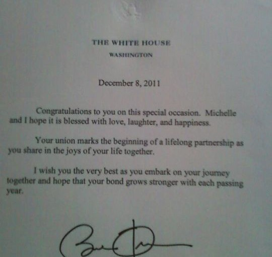 Obama_Letter_Newlyweds
