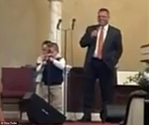 Toddler sings gay hate song in church and goes viral