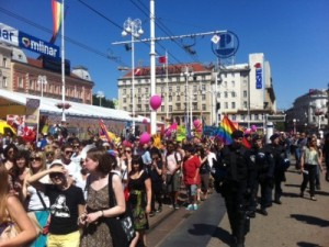 Croatian capital's gay pride passes without incident