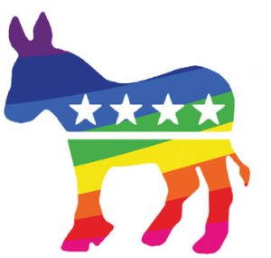Record number of gay delegates at Democratic Party convention