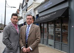 Gay couple refused treatment at beauty salon