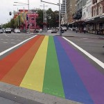 Rainbow crossing in Sydney to be removed