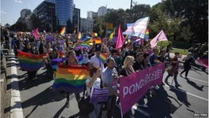 Serbian Gay Pride Takes Place Peacefully