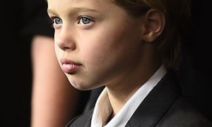 John Jolie Pitt at the Premiere of Unbroken
