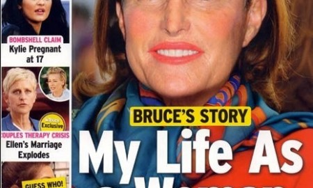 Bruce Jenner Photoshopped With Makeup