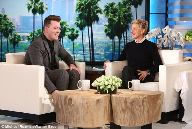 Sam Smith Ellen Degeneres