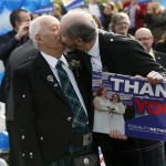Gay and lesbian couples can now marry in Scotland