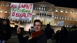 Greece Legalises Same-Sex Civil Partnerships
