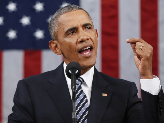 President Barak Obama State Of The Union Address