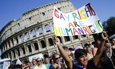Same-sex Marriage Legislation Goes Before Italian Parliament