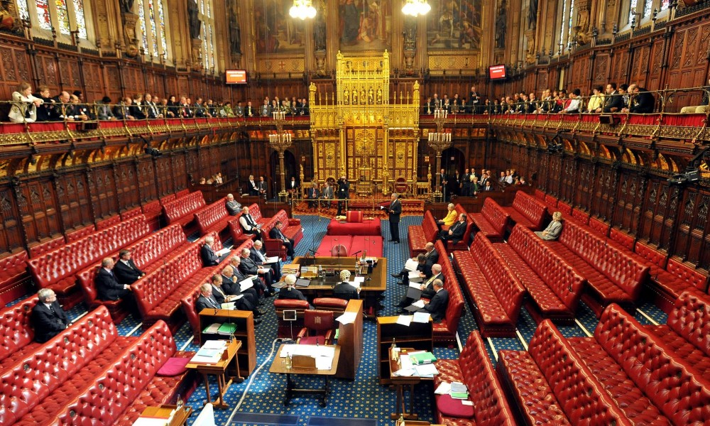 Suspend Bishops From House of Lords
