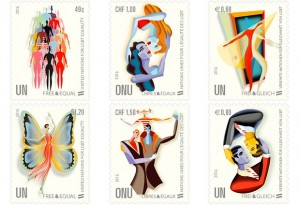 UN Stamps Promote LGBT Equality