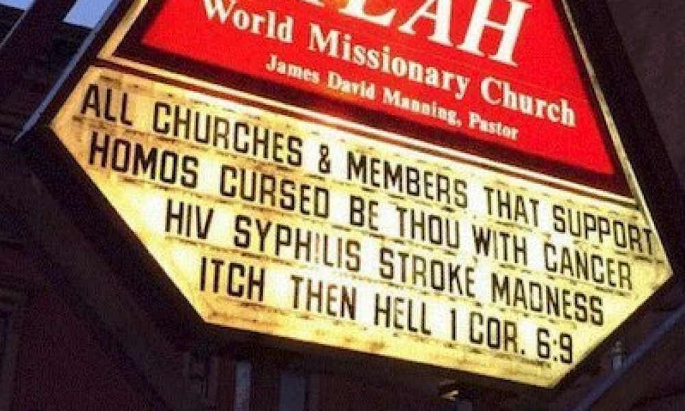 homophobic harlem church