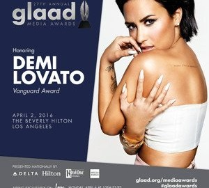 Demi Lovato GLAAD Awards