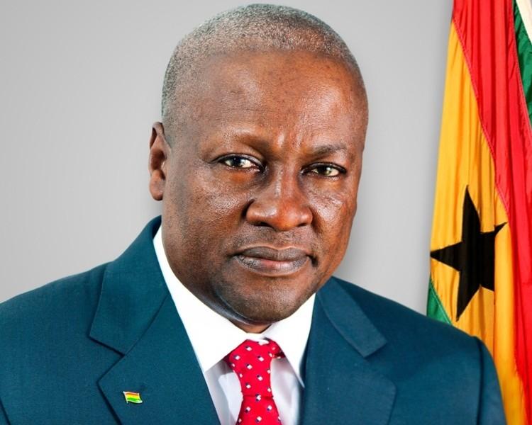 Ghanaian President Mahama