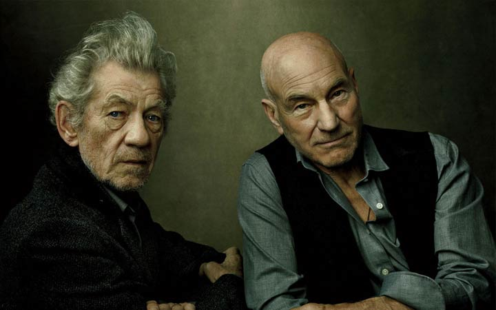 Ian McKellen No Man's Land