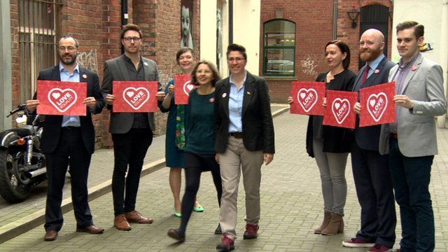 Love Equality campaign Northern Ireland