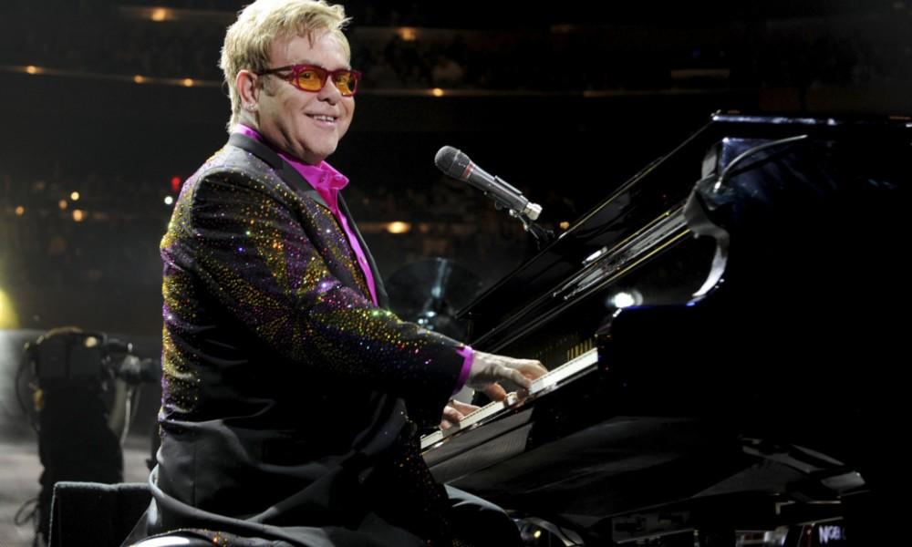 Sir Elton John in Moscow