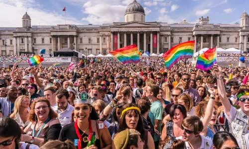 Pride London lgbt+ survey