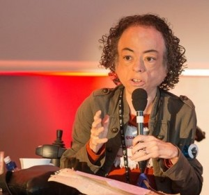 Actress Liz Carr declares 'I can't be a silent witness'