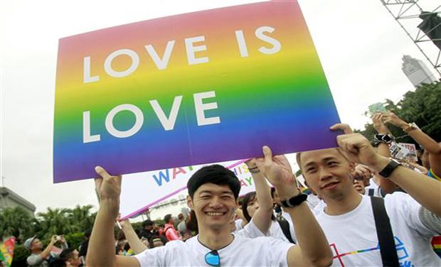 Tapei pride parade