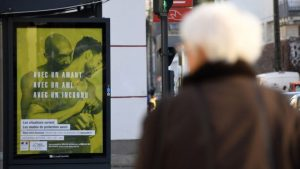 Outrage over local ban on French gay safe-sex posters