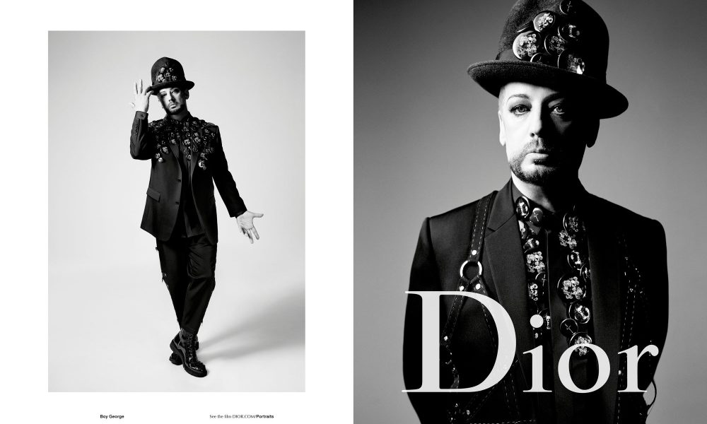 Boy George Dior Homme