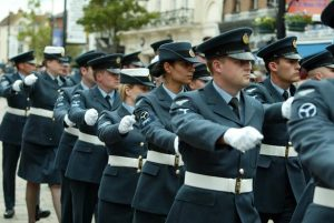 RAF women banned from wearing skirts on parade