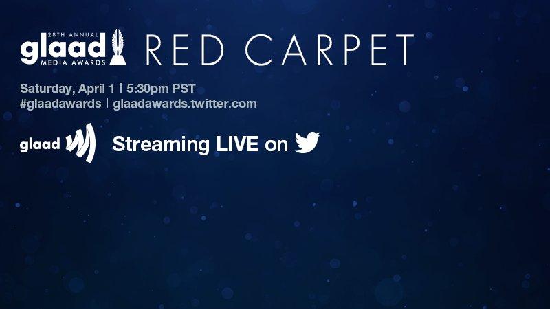 Twitter to livestream GLAAD Awards
