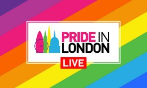 Pride in London live