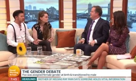 Piers Morgan gender