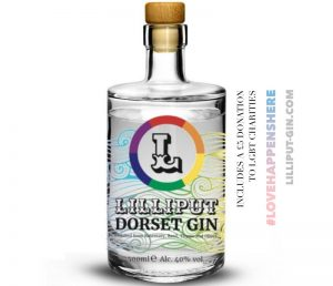 Special edition Lilliput Dorset Gin launched for Pride