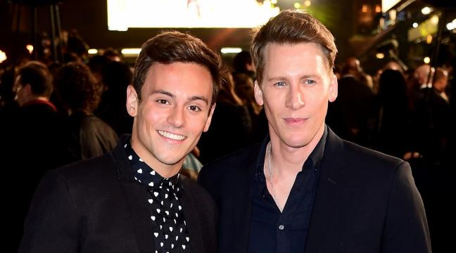Tom Daley and Dustin Lance Black wedding