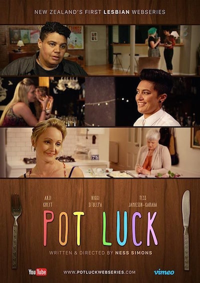 Pot Luck lesbian webseries