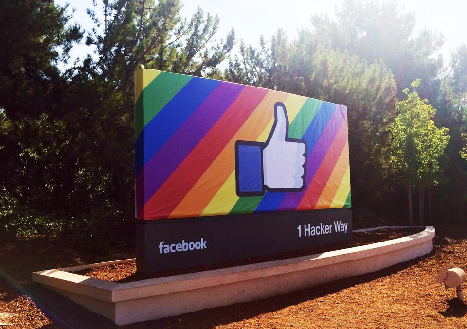 Facebook Pride Month
