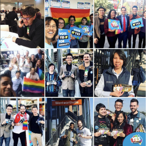 Early signs show a landslide 'yes' for equal marriage in Australia