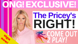 Katie Price signs the #ComeOut2Play campaign!