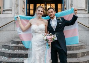 "Film maker and trans activist Jake Graf speaks out after ""Tran and Wife"" article"