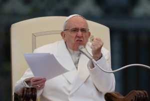 Pope speaks out against same-sex families