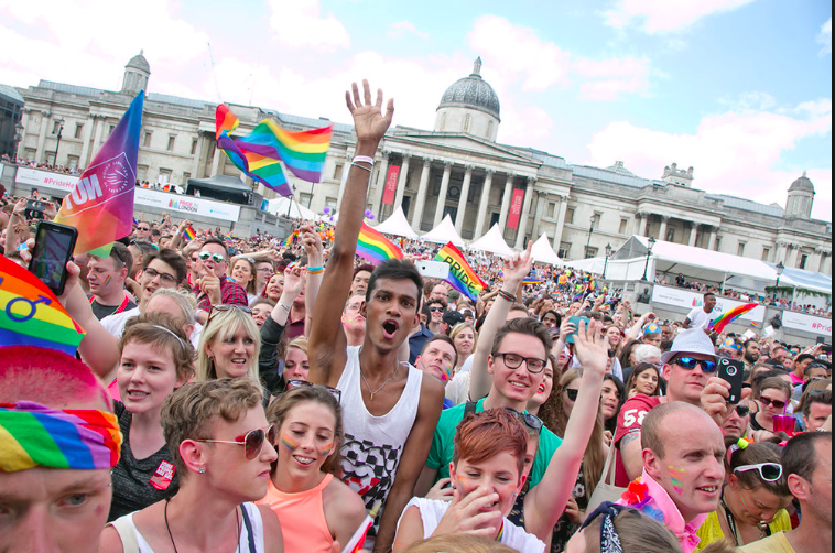 London Gay pride Find out the dates for the event