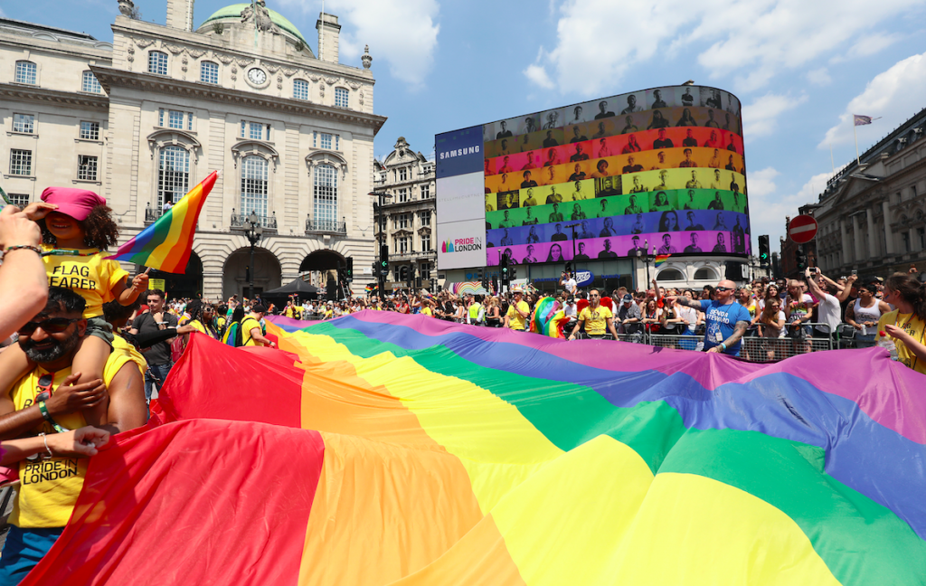 faa85bed69 And the theme of Pride in London 2019 is... – Out News Global