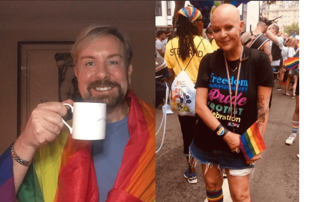 National treasure alert! Gail Porter has a cuppa with Steven.