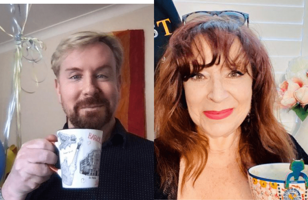 Watch! A Cup of Tea with Steven and AbFab legend Harriet Thorpe.