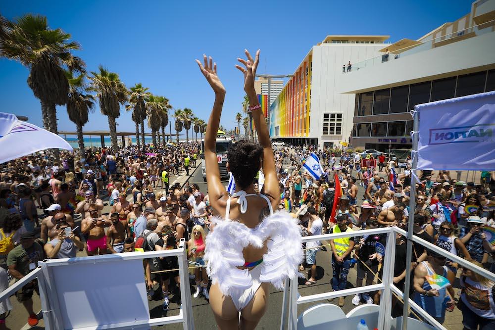 Celebrations at Tel Aviv Pride.