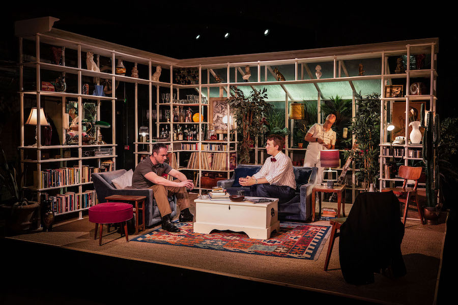Review. My Night With Reg, Turbine Theatre, Battersea.