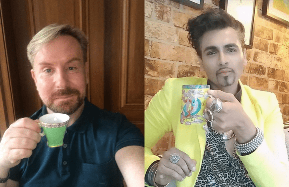 Exclusive! TV's Mr Fabulous has a cup of tea with Steven.