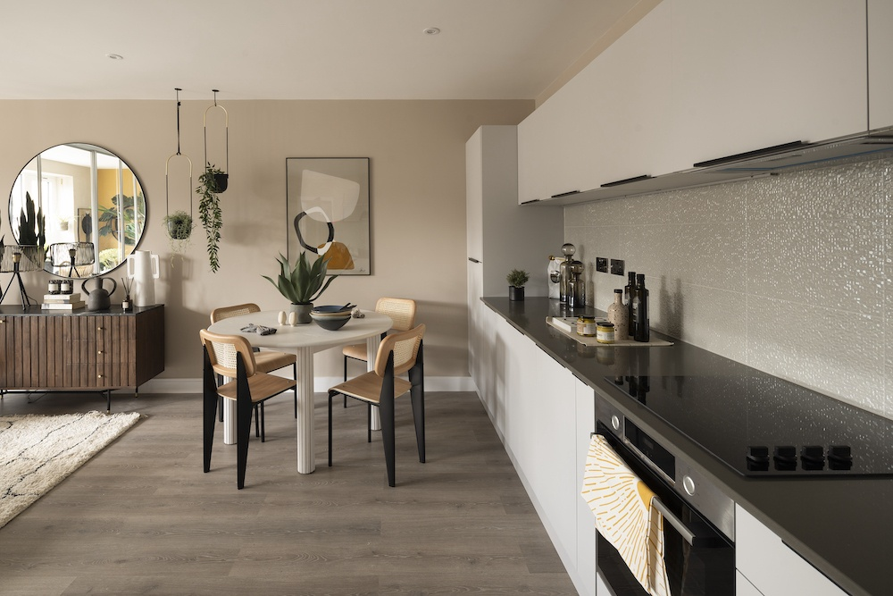 Stunning show home unveiled in West London dairy development.
