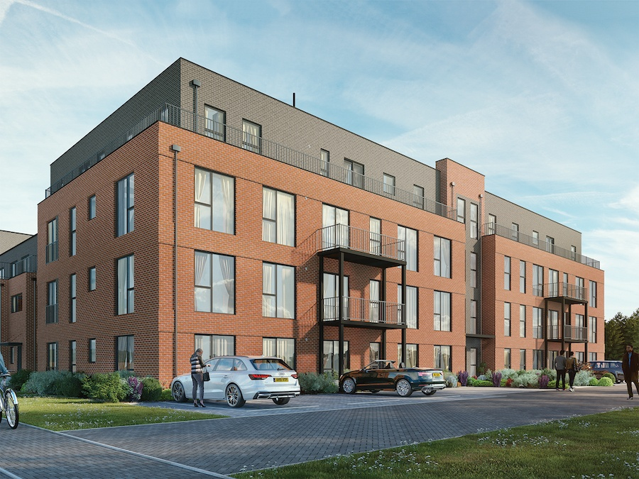 Reading: flats in former printworks from £270,000.