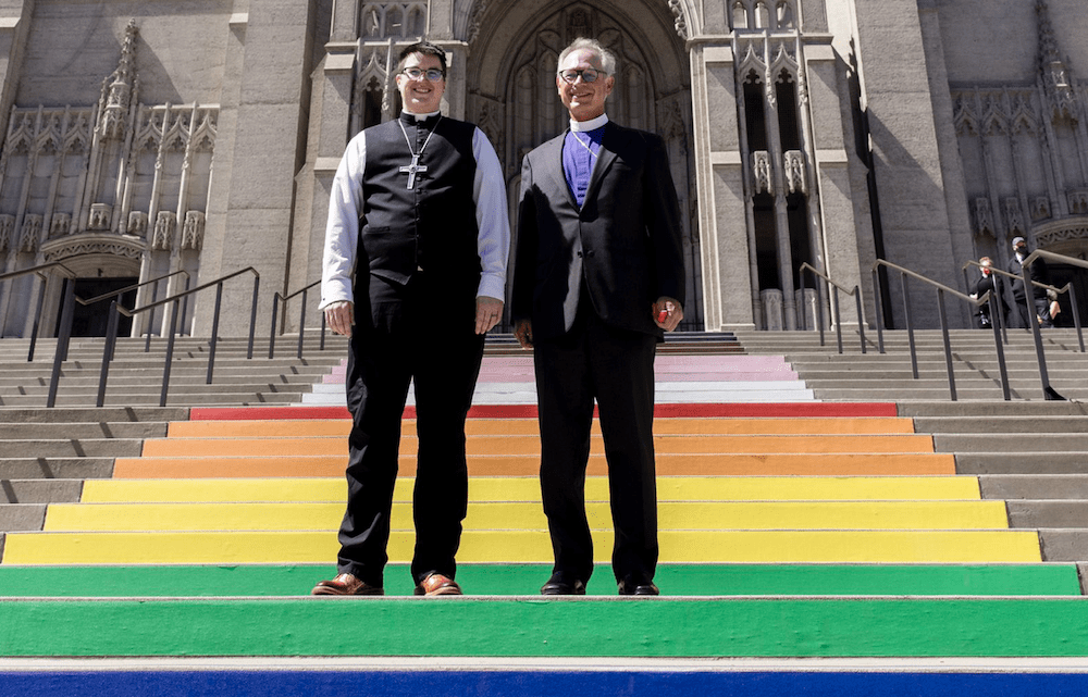 History is made as US Church appoints first transgender bishop.